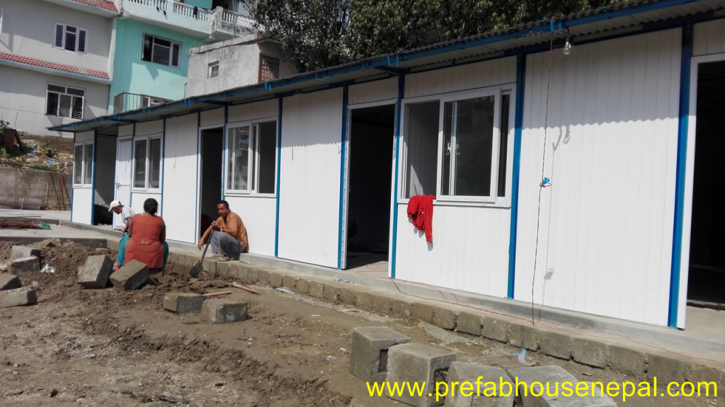 Prefabricated House (prefab house)
